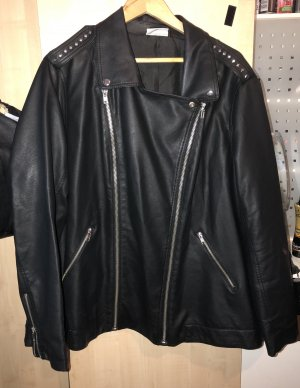Janina Leather Jacket black