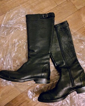Vero Cuoio Riding Boots black leather
