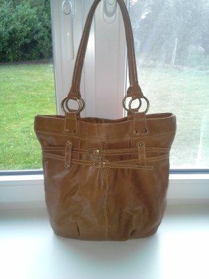 Shoulder Bag cognac-coloured