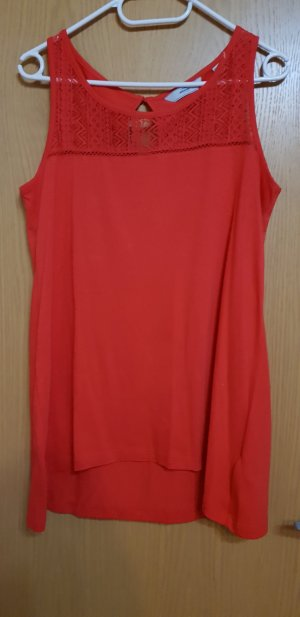Modern Woman Top lungo rosso
