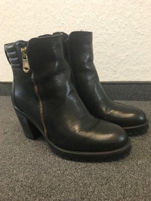 Chaussures noir cuir