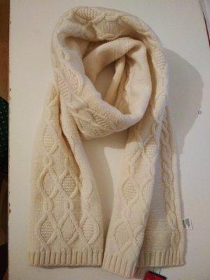 United Colors of Benetton Bufanda de lana blanco puro Lana