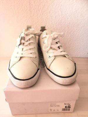Damen Mädchen Schuhe Sneakers Von flip*flop Gr. 38 Weiß Echtleder