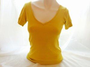 Damen Mädchen T-Shirt, Tally Weijl, Gr. XS Olivgrün