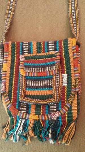 Legend Sac à franges multicolore coton