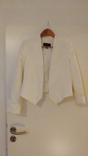 Mango Softshell Jacket white