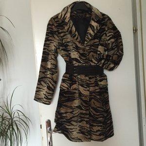 Damen Mantel Animal Print.