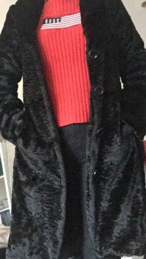 Damen Mantel in schwarz, Gr 36