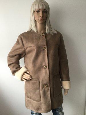 Damen Mantel in Vintage-Optik von Zara Gr.M