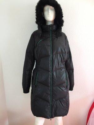 Damen Mantel Jacke Daunenmantel von Esprit Gr. 44 Schwarz