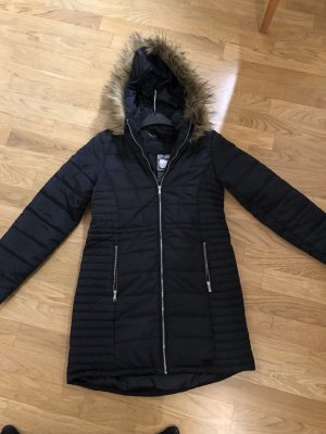 Vero Moda Hooded Coat black