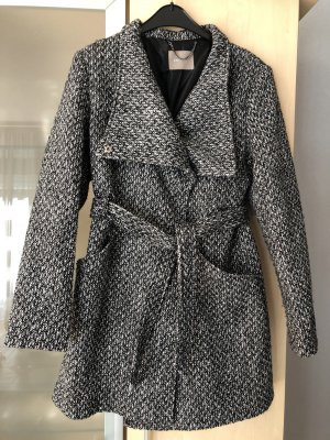 Orsay Between-Seasons-Coat dark grey-black