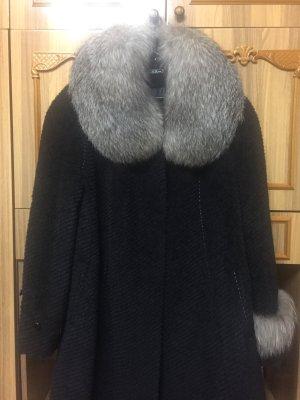 Damen Mantel Wintermantel echtes Futter aus Lamahaar