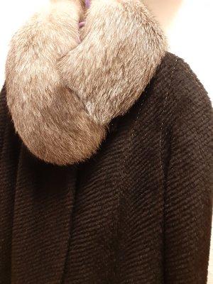 Damen Mantel Wintermantel echtes Futter aus Lamahaar in Gr. XXL