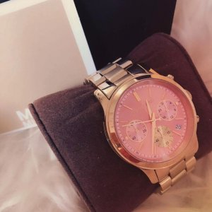 Damen Michaels Kors MK6161 gold-rosa