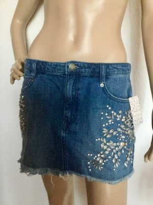 Free People Gonna di jeans blu fiordaliso