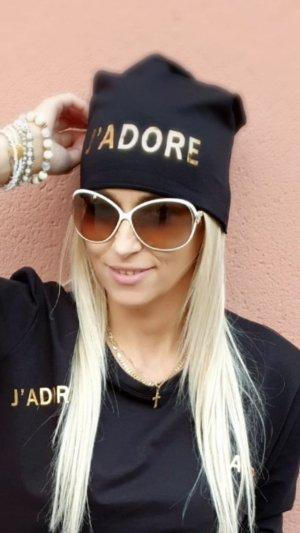 Sombrero de tela negro