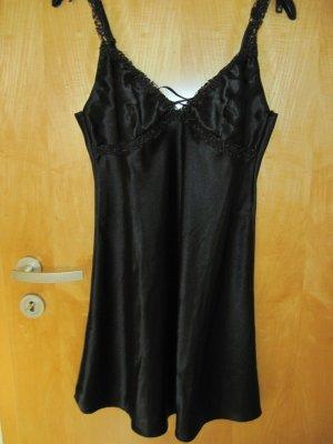 Damen Nachthemd/ Damennachthemd / Negligee, Gr. M (40/42), schwarz