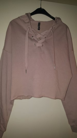 Fishbone Capuchon sweater roségoud