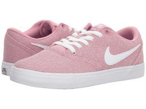 Damen Nike SB Check Solarsoft Sneaker rosa
