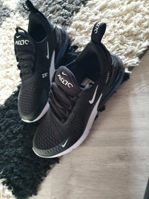 Nike Klittenband Sportschoenen wit-zwart