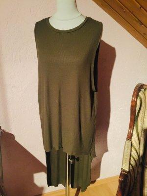 Accessorize Camicia lunga grigio-verde