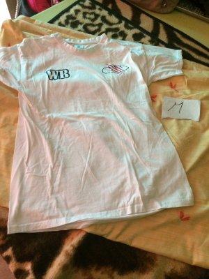 BC T-shirt imprimé blanc