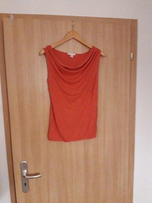 Damen Oberteil Shirt schulterfrei rosa Amisu Größe S