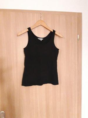 Damen Oberteil Shirt schulterfrei schwarz Clockhouse Größe M