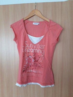 Damen Oberteil T-Shirt Yessica rosé Größe S