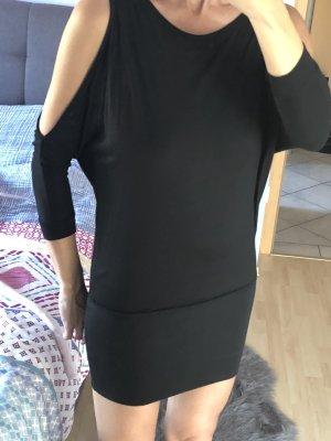 Damen Off Shoulder Kleid Gr 36 Only Schwarz wie Neu