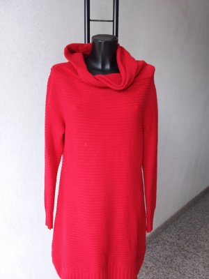 Made in Italy Sweater Dress red