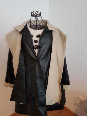Damen Oversize Ledermantel aus Lammleder