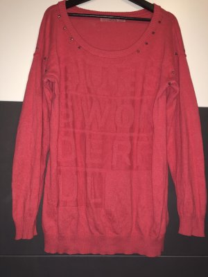 Guess Oversized Sweater bright red