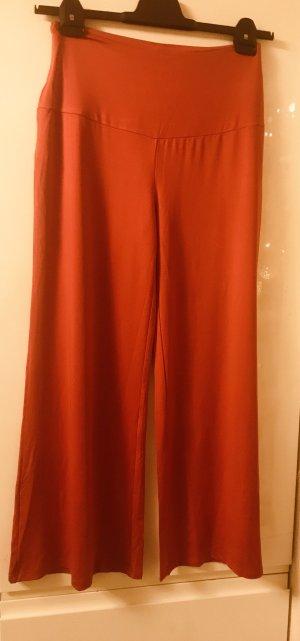 Pantalon palazzo rouge