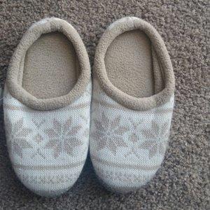 Zapatillas para casa beige