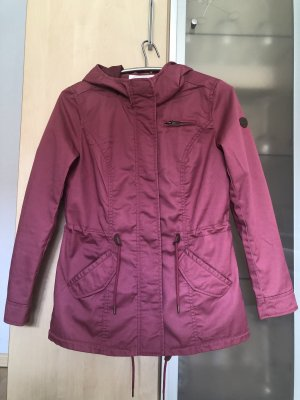 Only Parka raspberry-red