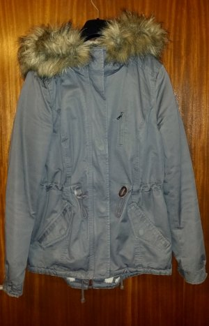 Damen Parka/ Jacke / Übergangsjacke in grau von H&M divided , Gr. 34