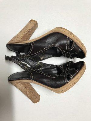 Damen Plateau Schuhe