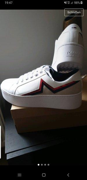 damen Plateau Sneaker von Tommy Hilfiger