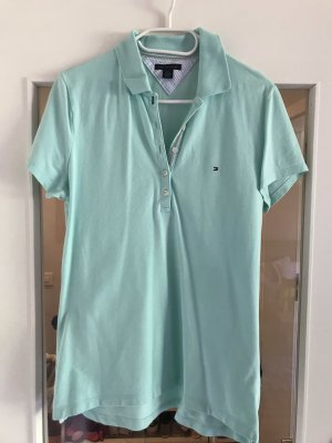 Tommy Hilfiger Polo Shirt mint cotton
