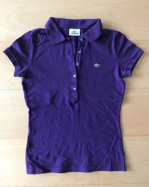 Lacoste Blusa tipo Polo lila-violeta azulado