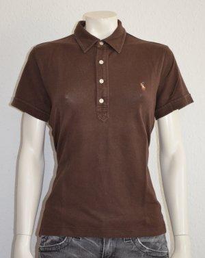 #Damen #Poloshirt #Ralph #Lauren #Braun #Größe #XL