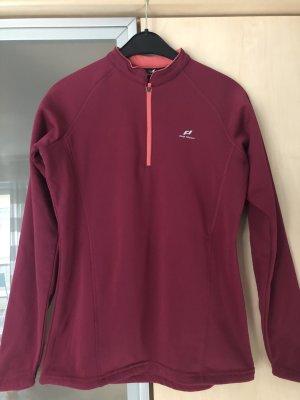 Damen Pro Touch Fleece Shirt Pullover Gr 38 Pink Himbeere