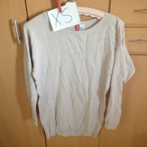 H&M Divided Long Sweater oatmeal cotton