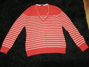 Esprit Sweater zalm-wit