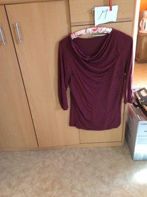 Jersey kimono burdeos
