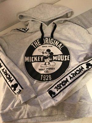 Clockhouse Jersey con capucha negro-gris claro