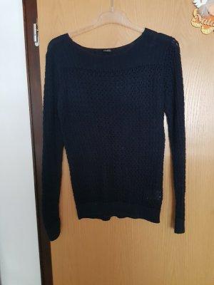 Esmara Crochet Sweater dark blue
