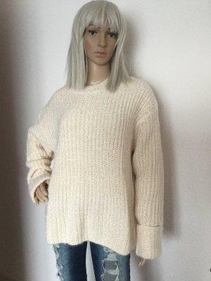 Damen Pullover Glitzerpullover von H&M Gr.S/M